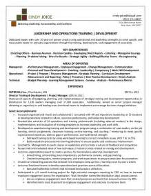 resume objective statement for construction management cindy joice resume for director of training and development