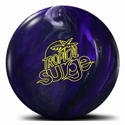 Tropical Surge Bowling Storm Ball Charcoal Violet