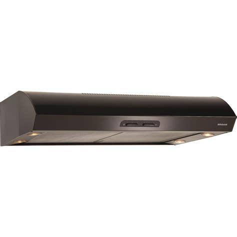 under cabinet vent hood installation broan 36 inch 300 cfm under cabinet range hood black