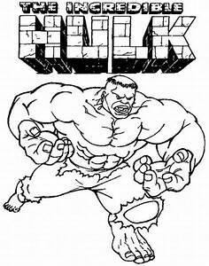 Hulk Coloring Pages - vitlt.com