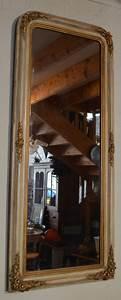 Miroir Doré Ancien : long et troit miroir ancien spiegel ~ Teatrodelosmanantiales.com Idées de Décoration