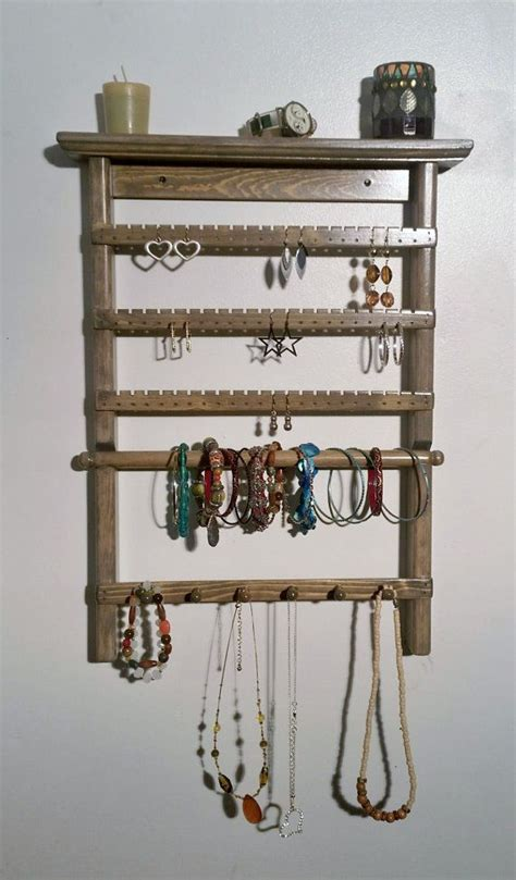 earring holder wall mounted jewelry organizer