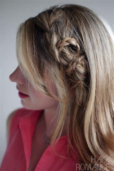 beautiful edgy casual mini twist braid