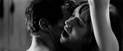 Grey Shades Fifty Gifs Couple Kiss Seductive