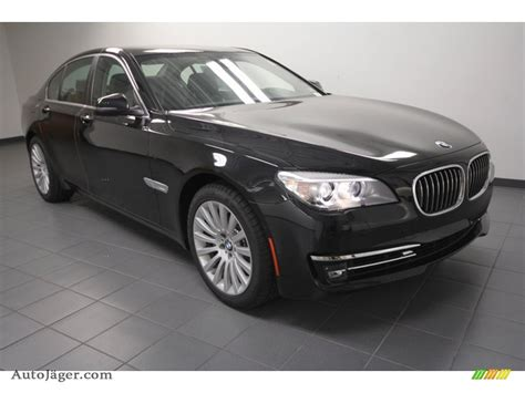 2013 Bmw 7 Series 740i Sedan In Black Sapphire Metallic