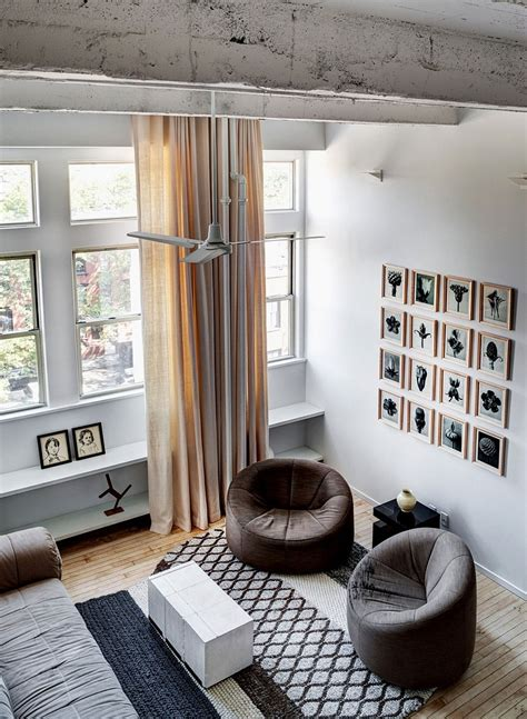 chic brooklyn apartment  chris cooper  jennifer hanlin