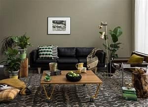 peinture salon 2 couleurs ou unie 31 idees de couleurs With quelle couleur de peinture pour un couloir 7 comment integrer la couleur vert kaki dans sa decoration