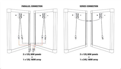parallel series panel installations redarc electronics