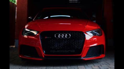 Rs Garage by Audi Rs3 8v Sound Garage Flaps Complete Open