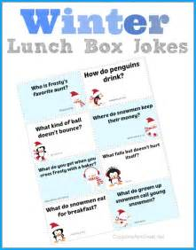 Winter Lunch Box Jokes