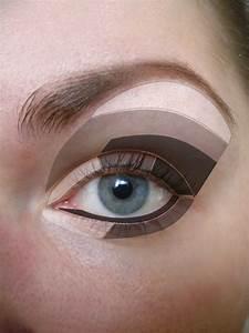 Skinny Tips  Eye Shadow Application Diagram