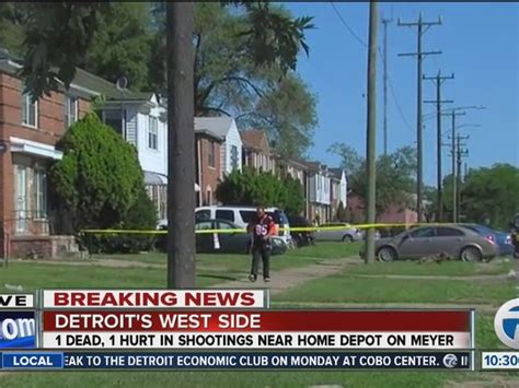 Home Depot West Side two one killed at home on detroit s west side wxyz
