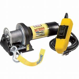 Superwinch 110 Volt Ac Powered Electric Utility Winch