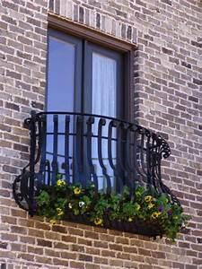 faszinierende franzosische balkone archzinenet With französischer balkon mit garten aufbewahrungsbox metall