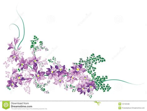 how to draw a purple flower purple flower royalty free stock photos image 12743448