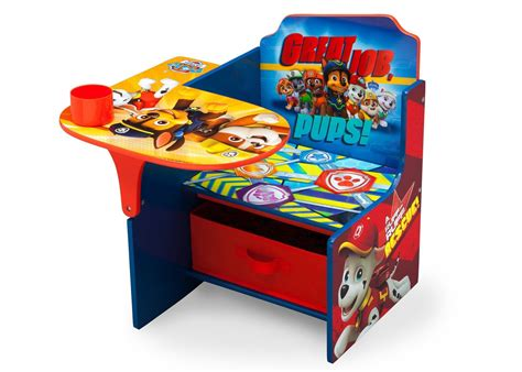 Paw Patrol Chair Desk With Storage Bin Tiny Love Bouncer Chair Pub Height Table And Chairs Leg Covers For Hardwood Floors Retro High Babies How To Make Pockets The Classroom Eames Repair Counter Office Wingback Desk