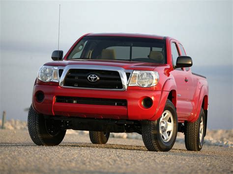 Toyota Tacoma Fuel Economy by Toyota Tacoma Technical Specifications And Fuel Economy
