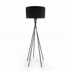 Stehlampe Brauner Schirm : moderne stehleuchte stehlampe lampe wohnzimmer leuchte standleuchte ebay ~ Markanthonyermac.com Haus und Dekorationen