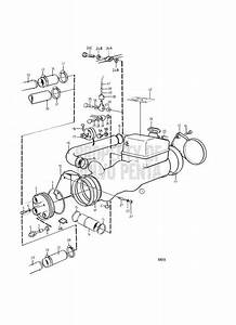 Volvo Penta Exploded View    Schematic Heat Exchanger And