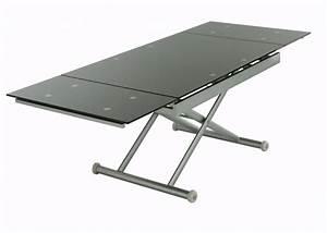 Table Basse Ajustable Table Basse Design Pas Cher