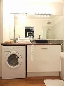 Lave Linge Dans Salle De Bain : afficher l 39 image d 39 origine bagno pinterest images et ~ Preciouscoupons.com Idées de Décoration
