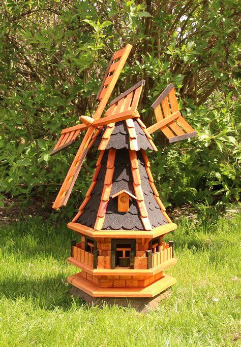 Windmühle Aus Echtholz Für Ihren Garten Holzdekoladende