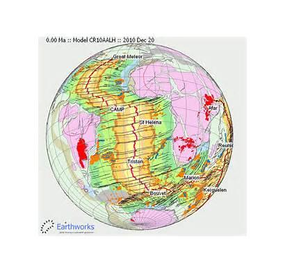 Plate Movement Tectonic Tectonics Reeves Earth Pangaea