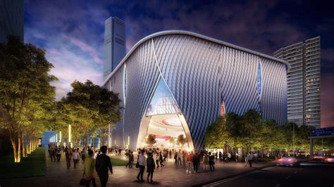 images video  bing thom architects xiqu centre revealed archdaily