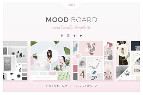 mood boards  social media  behance
