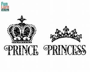 Prince Princess Crown SVG - FunLurn SVG