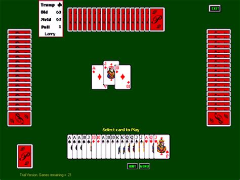 sac double deck pinochle page