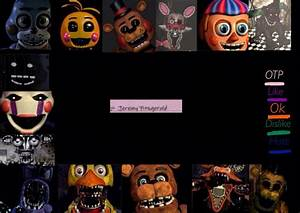 FNAF All Characters Wallpaper - WallpaperSafari