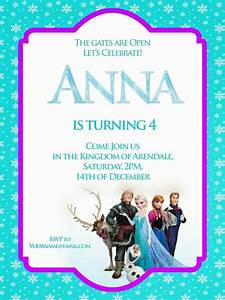 17 best images about party ideas disney39s frozen invites With free printable disney wedding invitations templates