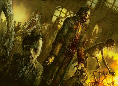 horde zombie magic curse mtg strahd innistrad zombies gathering fantasy monster kendall dave wizards decks card token duel vs deck