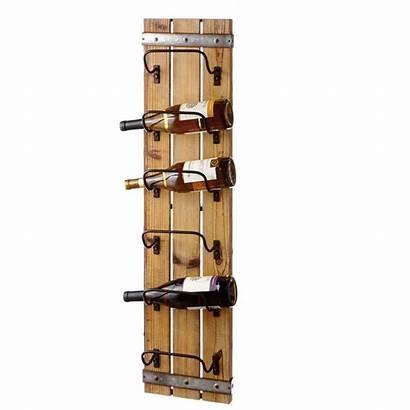 Wine Rack Wooden Wood Mounted Vertical Cbk