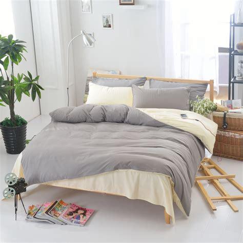home design comforter 3pcs solid color duvet cover set pillowcase comforter cover bedding set modern design american