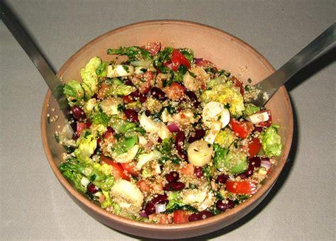cuisine santé recettes salade sud américaine au quinoa ma cuisine santé