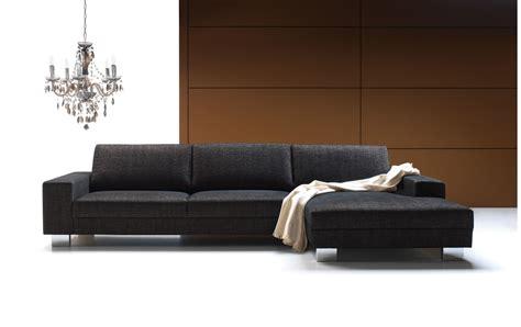 canape d angle contemporain canapé d 39 angle quattro gris méridienne droite set1 bona