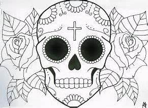 Simple Sugar Skull Drawings Tumblr | www.pixshark.com ...