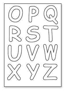 cut out letters letters to print and cut out 6a cut out letters 13224