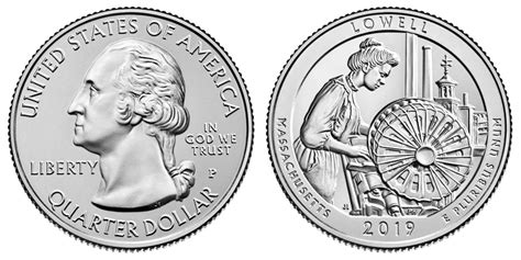 p lowell quarter coin  prices  info