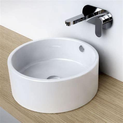 plan vasque a poser vasque 224 poser ronde 41 cm c 233 ramique