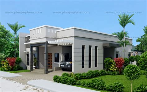 arcilla  bedroom  storey modern house shd  pinoy eplans