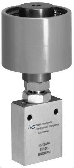 high Pressure Actuator-ivs