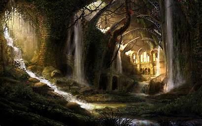 Fantasy Landscape Wallpapers Natural Background Landscapes Dark