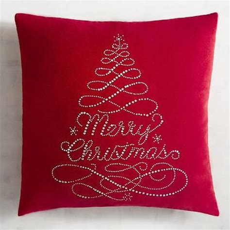gleaming red christmas throw pillows ideas detectview