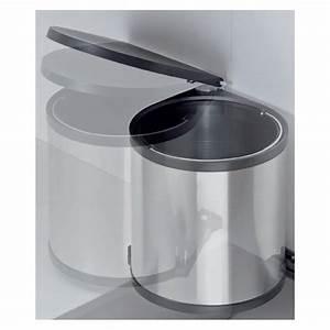 Mülleimer Küche Einbau : einbau abfallsammler 11 l rund wei wesco m lleimer schwenkbar ab 40 cm schrankt r k che ~ Markanthonyermac.com Haus und Dekorationen