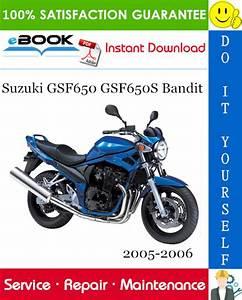Best  U2606 U2606 Suzuki Gsf650 Gsf650s Bandit Motorcycle Service