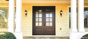 Farmhouse, Bronze, Double, Entry, Door
