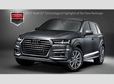 2017 Audi Q7 Technological Highlights of the New Redesign